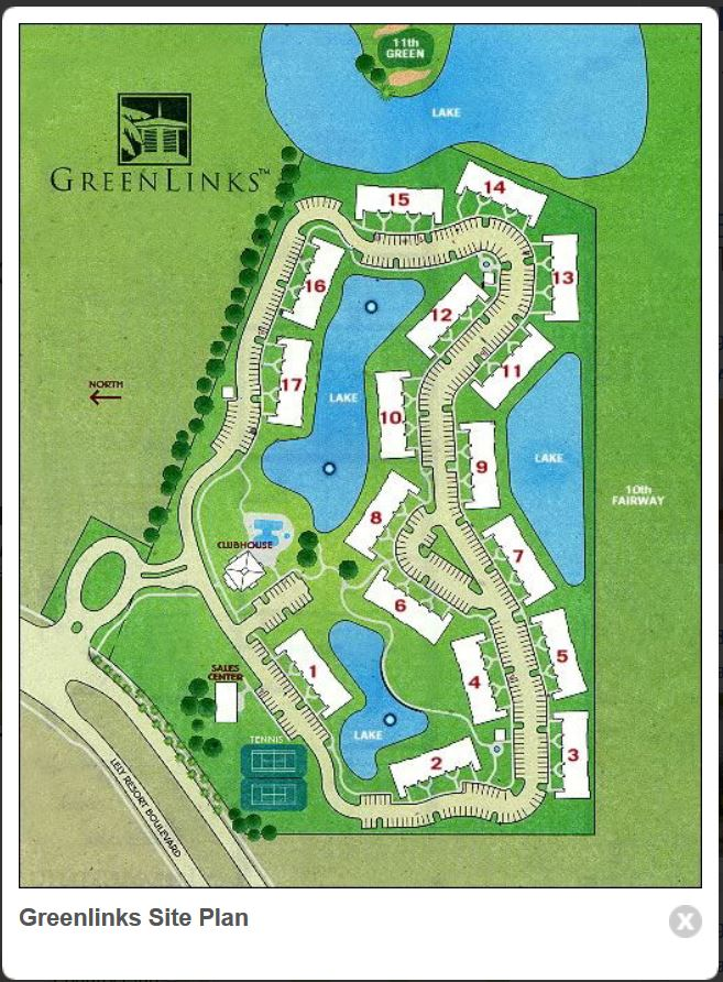 Greenlinks Site Plan